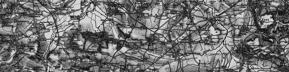 Old map of Seavington St Michael in 1898