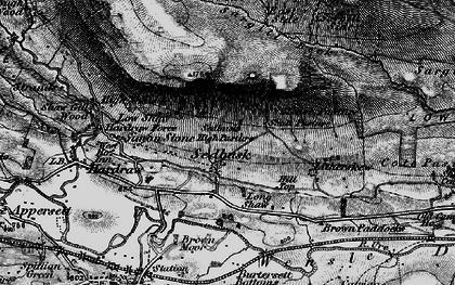 Old map of Sedbusk in 1897
