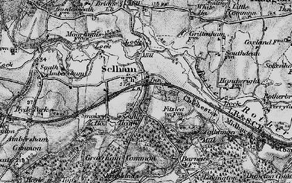 Old map of Selham in 1895