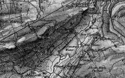 Old map of Wood End Lodge in 1897