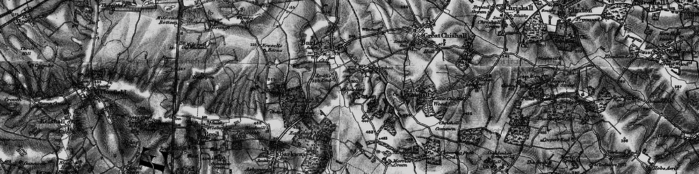 Old map of Abbotsbury in 1896