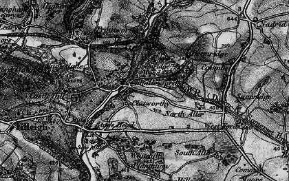 Old map of Whitehills Plantation in 1898