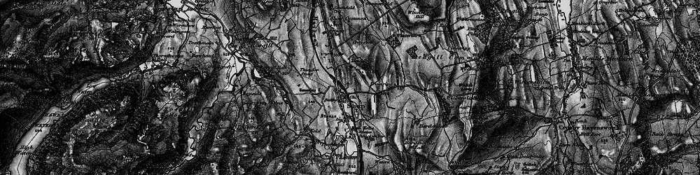Old map of Wintertarn in 1897