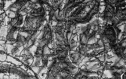 Old map of Wilmshurst in 1895