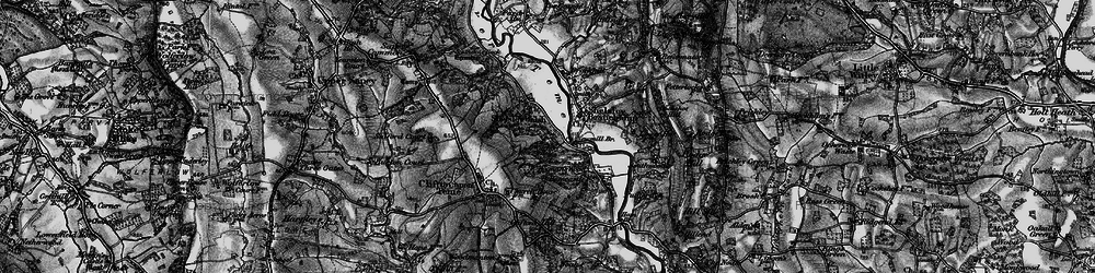 Old map of Witchery Hole in 1898