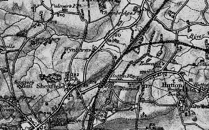 Old map of Shenfield in 1896