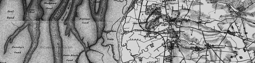 Old map of Wolferton Creek in 1893