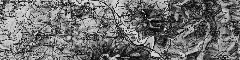 Old map of Alders Coppice in 1898