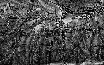 Old map of Shipton under Wychwood in 1896