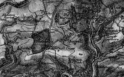 Old map of Youlston in 1898
