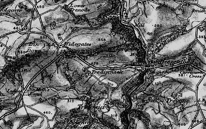 Old map of Shortacross in 1896