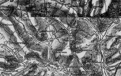 Old map of Shortlanesend in 1895