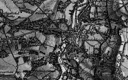 Old map of Shotley Bridge in 1898