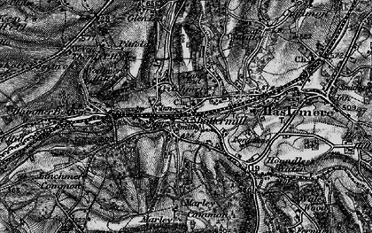 Old map of Shottermill in 1895