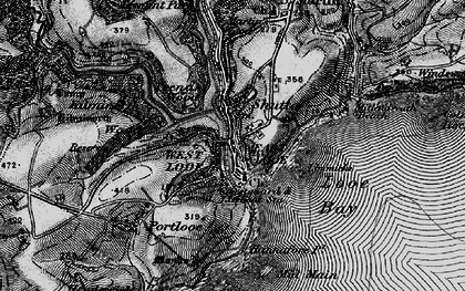 Old map of Shutta in 1896