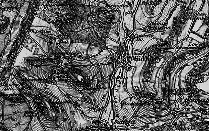 Old map of Sidbury in 1897