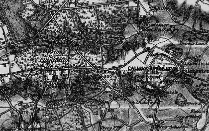 Old map of Silchester in 1895