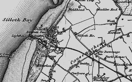 Old map of Windmill, The in 1897