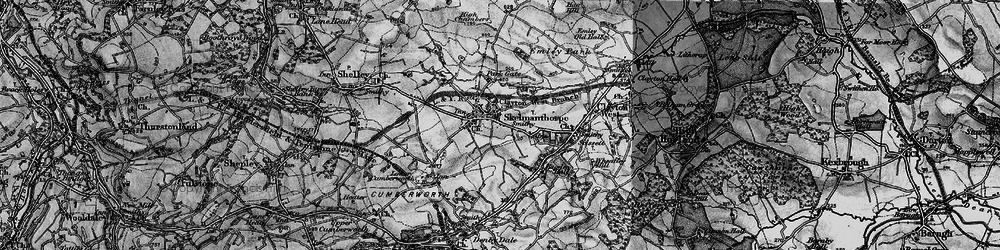 Old map of Skelmanthorpe in 1896
