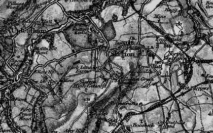 Old map of Skelton in 1898