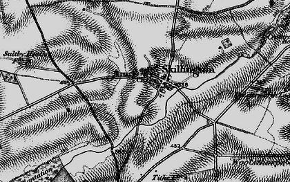 Old map of Skillington in 1895