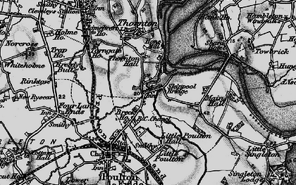 Old map of Wyre Way in 1896