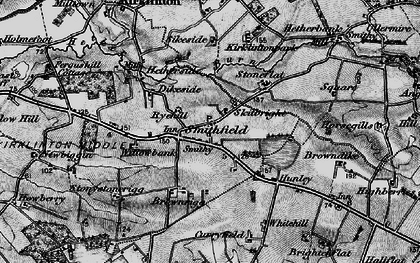 Old map of Willow Bank in 1897