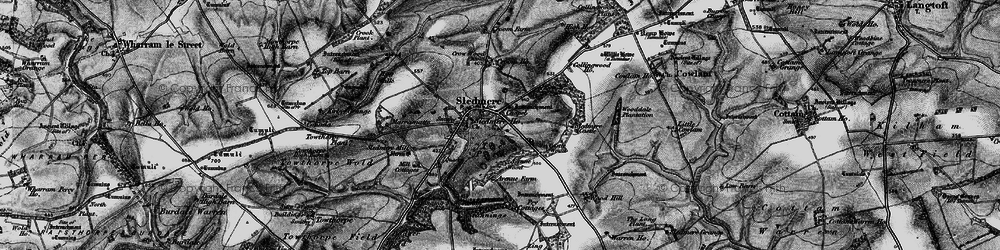 Old map of Wood Dale Plantn in 1898