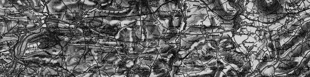 Old map of West Pitten in 1898