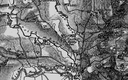 Old map of Wreigh Burn in 1897