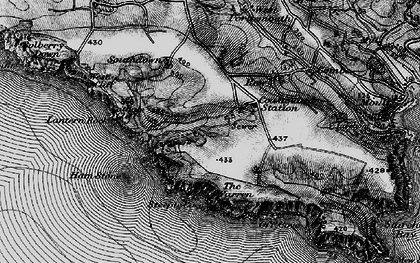 Old map of Lantern Rock in 1897