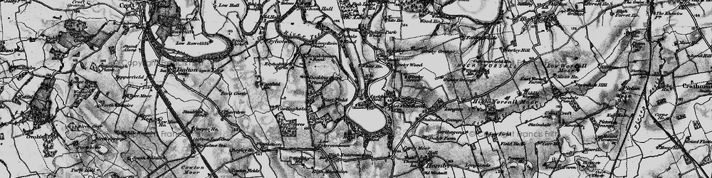 Old map of Wood Head in 1898