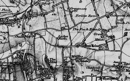 Old map of Socketts Heath in 1896