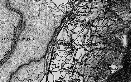 Old map of Bailiff Ground in 1897