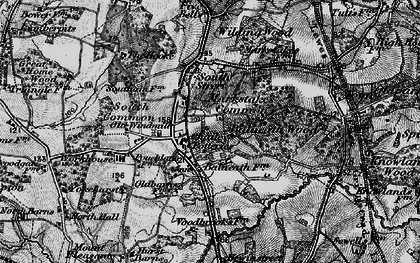 Old map of Balneath Wood in 1895
