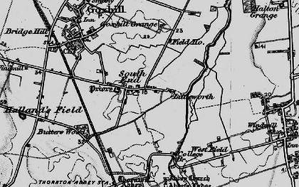 Old map of South End in 1895