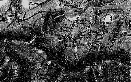 Old map of South Harting in 1895