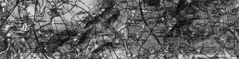 Old map of South Mimms in 1896