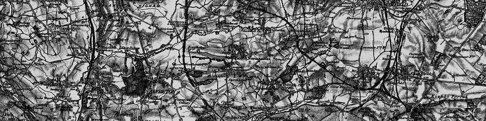 Old map of South Normanton in 1896