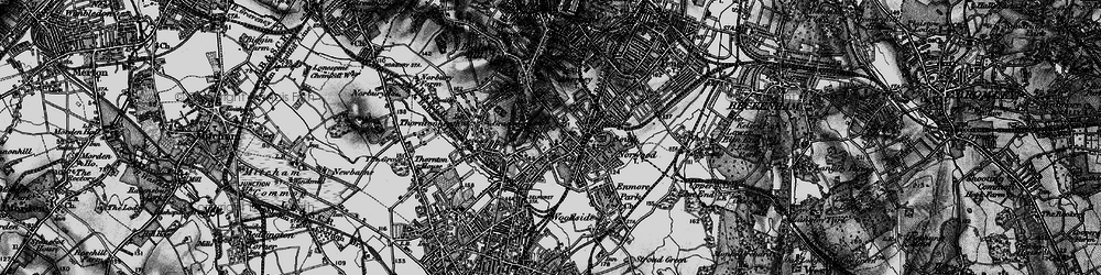 Old map of South Norwood in 1895