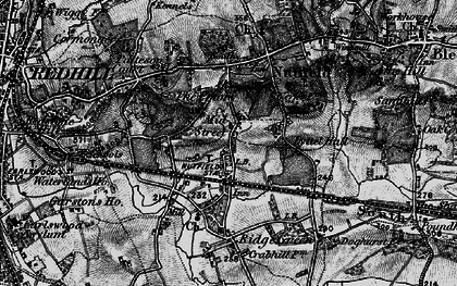 Old map of South Nutfield in 1895