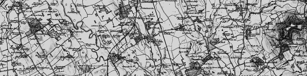 Old map of Whitley Grange in 1898