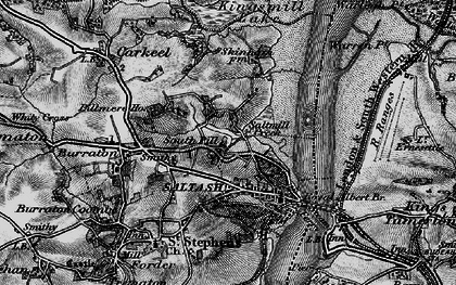 Old map of South Pill in 1896