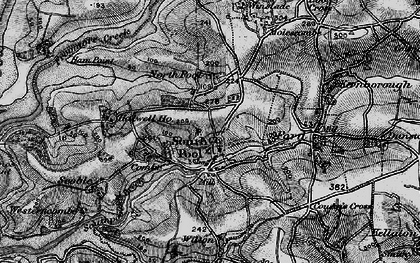 Old map of Wilton in 1897