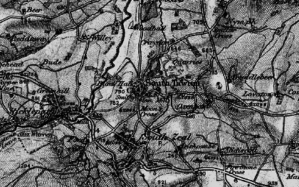 Old map of Willey in 1898