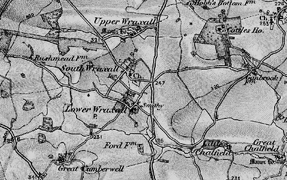 Old map of South Wraxall in 1898
