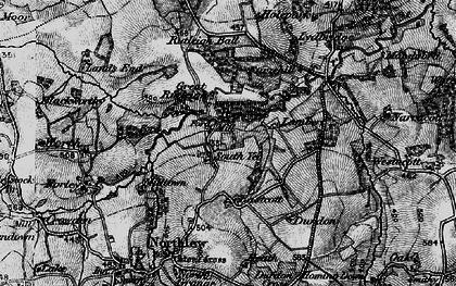 Old map of Lewmoor in 1898