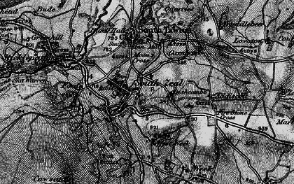 Old map of West Wyke in 1898