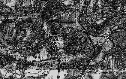 Old map of Southborough in 1895