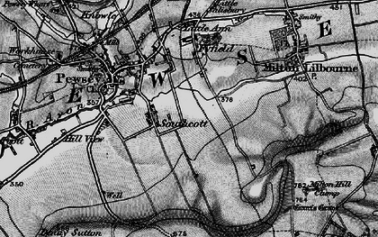 Old map of Winter's Penning in 1898